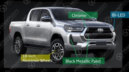 Toyota Hilux Facelift Leaked Ahead of Launch 2