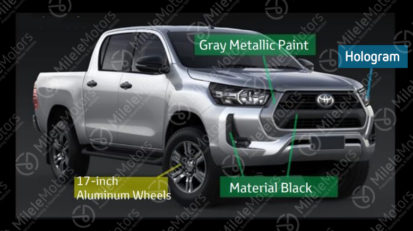 Toyota Hilux Facelift Leaked Ahead of Launch 1