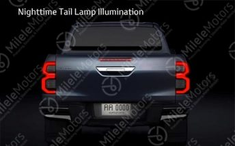 Toyota Hilux Facelift Leaked Ahead of Launch 7