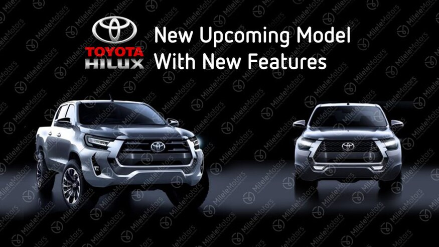 Toyota Hilux Facelift Leaked Ahead of Launch 3