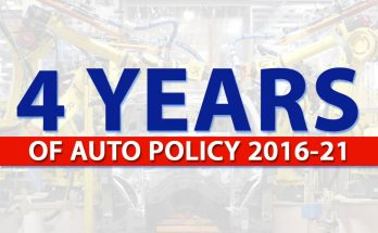 4 Years of Auto Policy 2016-21 5