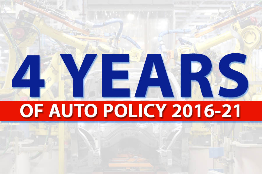 4 Years of Auto Policy 2016-21 2