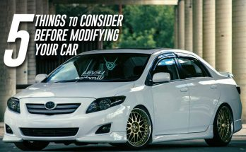5 Things to Consider Before Modifying Your Car 5