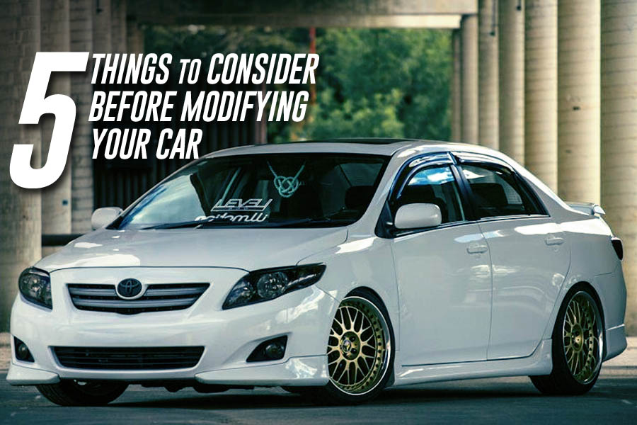 5 Things to Consider Before Modifying Your Car 3
