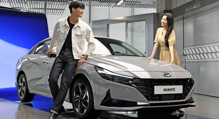 All New Hyundai Avante (Elantra) Debuts in South Korea 1