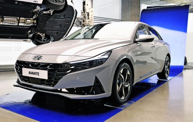 All New Hyundai Avante (Elantra) Debuts in South Korea 3