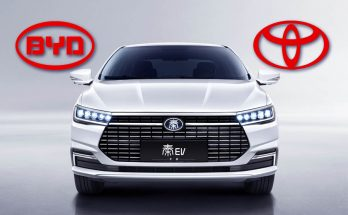 Toyota Launches New Electric Car Company with BYD 5