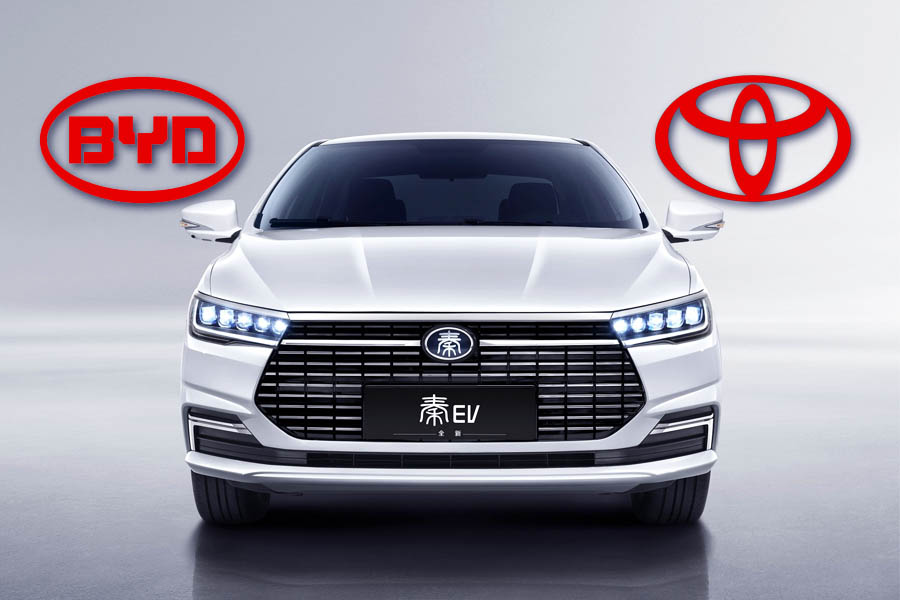 Toyota Launches New Electric Car Company with BYD 1