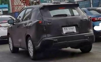 2021 Toyota Corolla Cross Spotted 1