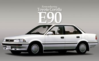 Remembering the Toyota Corolla E90 3