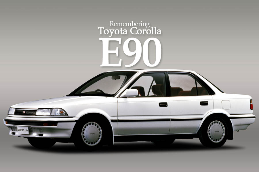 Remembering the Toyota Corolla E90 2