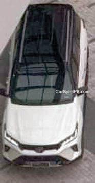 2020 Toyota Fortuner Facelift Spied Undisguised in Thailand 3