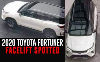 2020 Toyota Fortuner Facelift Spied Undisguised in Thailand 23