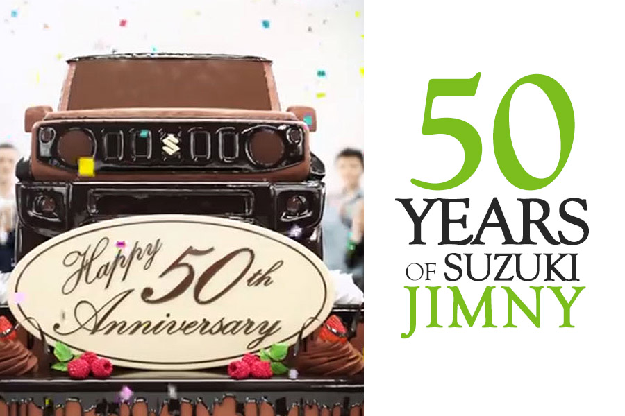 Suzuki Celebrates 50 Years of Jimny 8