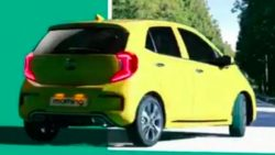 3rd gen Kia Picanto Facelift Leaked 3