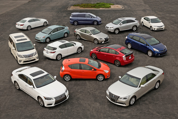 Toyota Hybrid Sales Exceeds 15 Million Units Worldwide 2