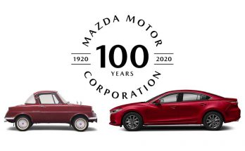 Mazda Completes 100 Years 2