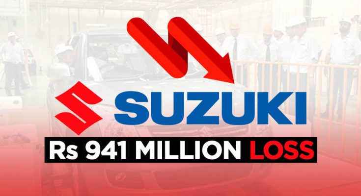 Pak Suzuki Suffers Rs 941 Million Quarterly Loss 1