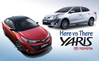 Toyota Yaris- Here vs There 12