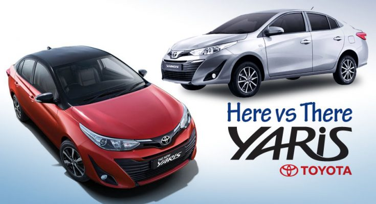 Toyota Yaris- Here vs There 1