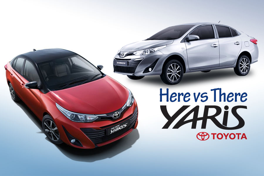 Toyota Yaris- Here vs There 9