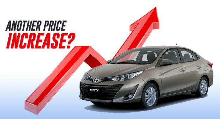 Another Increase in Car Prices Expected? 1