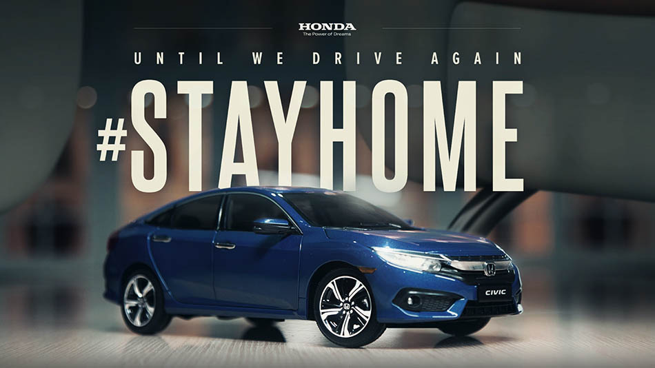 Honda's Latest Commercial Made Entirely from Home 10