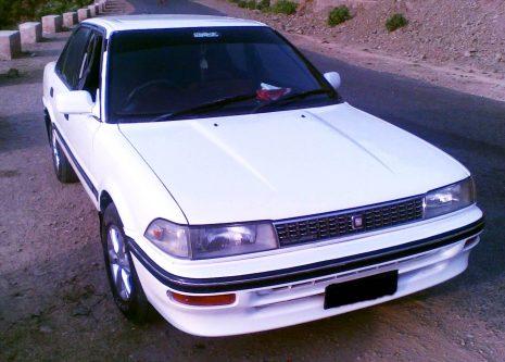 Remembering the Toyota Corolla E90 26