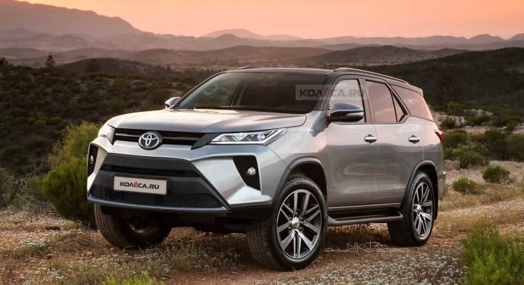 Speculative Renderings: 2020 Toyota Fortuner Facelift 1