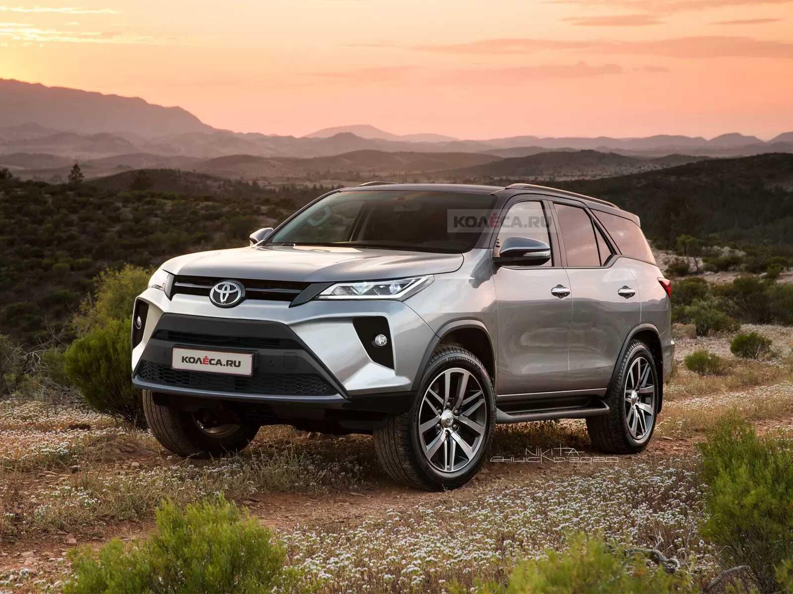 Speculative Renderings: 2020 Toyota Fortuner Facelift 1