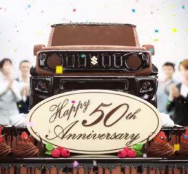 Suzuki Celebrates 50 Years of Jimny 2