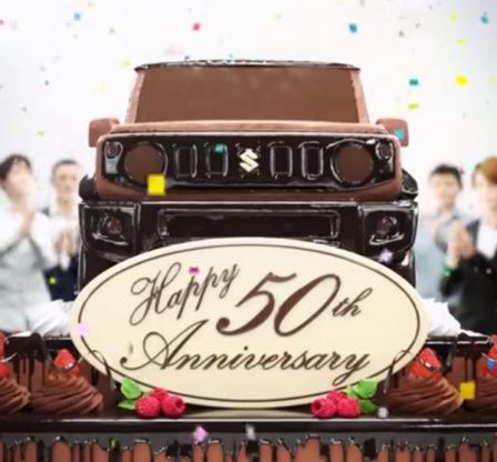 Suzuki Celebrates 50 Years of Jimny 1