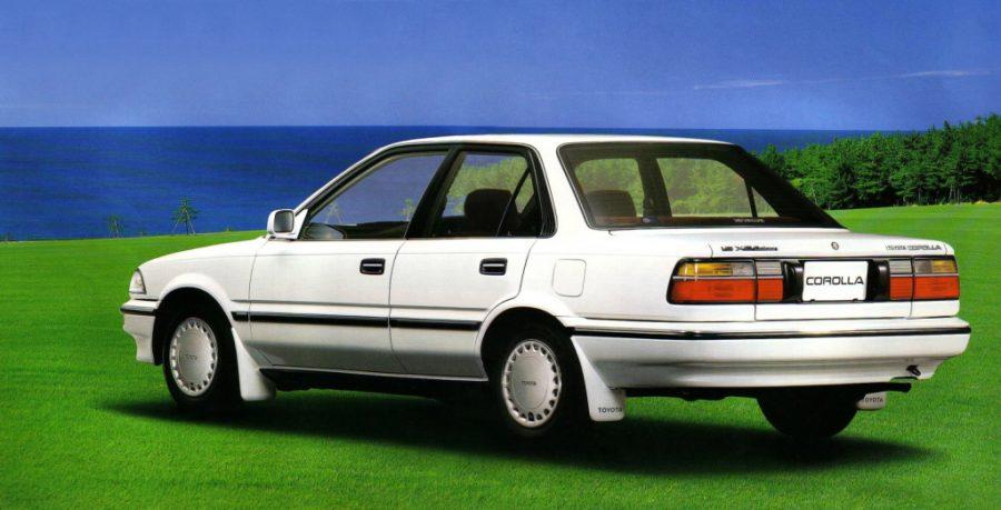 Remembering the Toyota Corolla E90 24