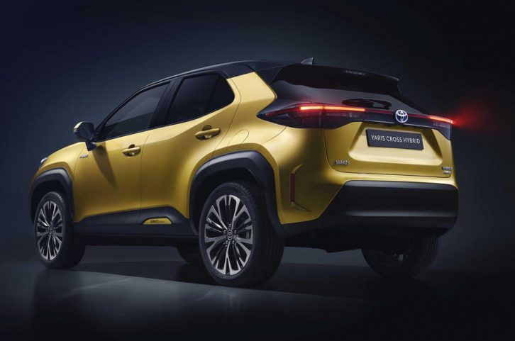 First Real-Life Images of 2020 Toyota Yaris Cross 15
