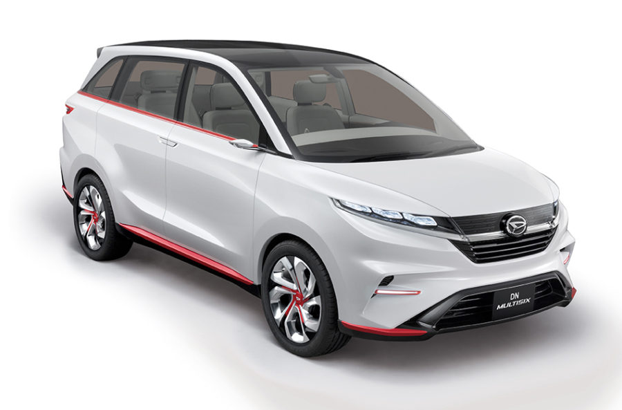 Toyota-Daihatsu Readying a New 6-Seat MPV 7