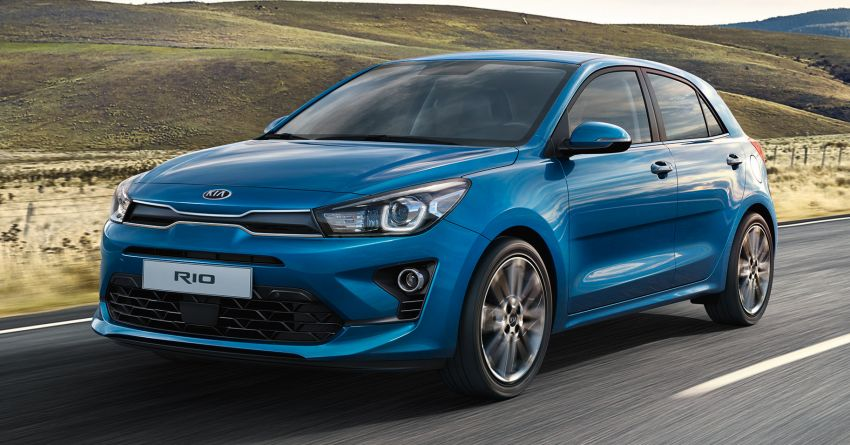 2020 Kia Rio Facelift Revealed 6