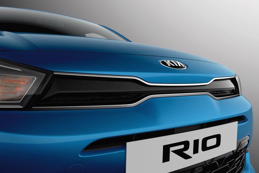 2020 Kia Rio Facelift Revealed 5