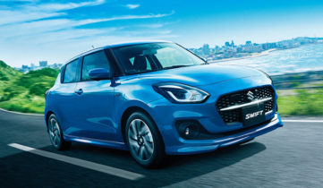 2020 Suzuki Swift Facelift Launched in Japan 8
