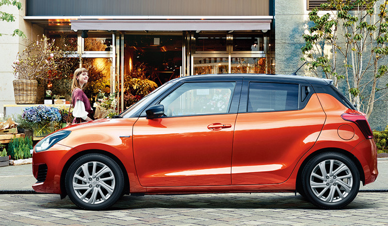 2020 Suzuki Swift Facelift Launched in Japan 10