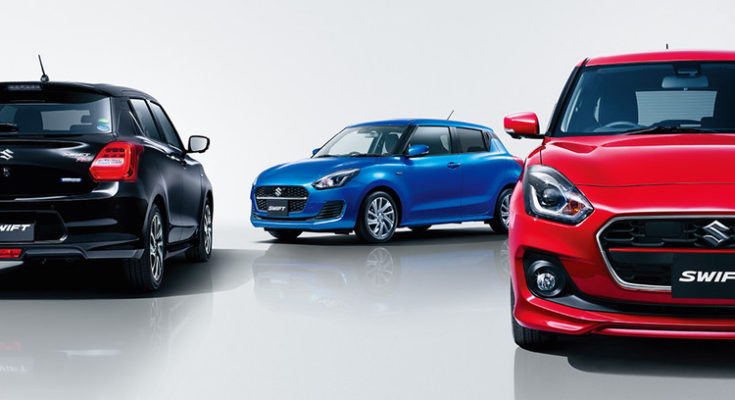 2020 Suzuki Swift Facelift Launched in Japan 1