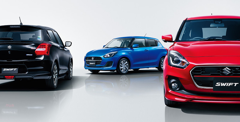 2020 Suzuki Swift Facelift Launched in Japan 5