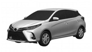 3rd Gen Toyota Yaris XP150 Facelift Leaked in Patent Images 2
