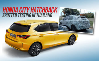Honda City Hatchback Spotted Testing in Thailand 10