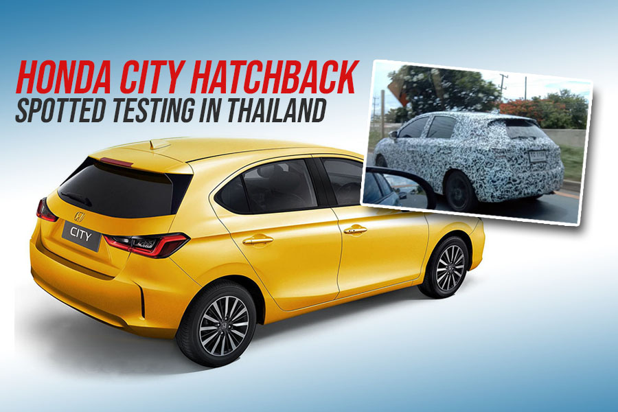 Honda City Hatchback Spotted Testing in Thailand 9