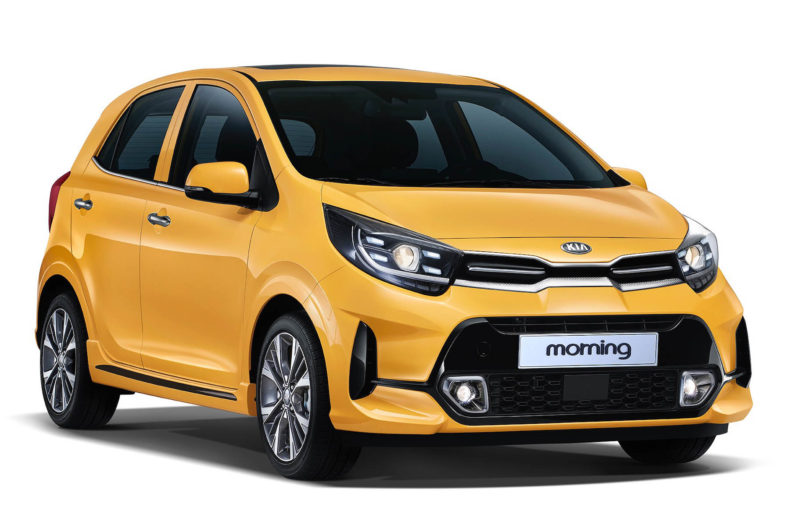 2020 Kia Morning (Picanto) Facelift Launched in South Korea 6