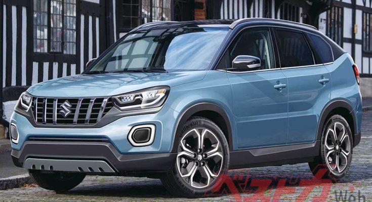 Next Generation Suzuki Vitara to Debut in October 1