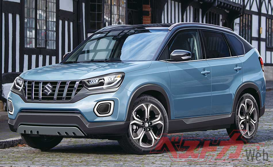 Next Generation Suzuki Vitara Set to Debut in October 2020 2