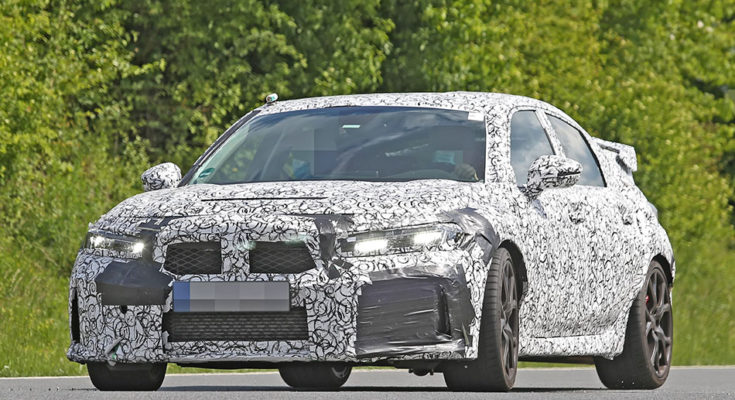 11th gen Honda Civic Type-R Spied for the First Time 1