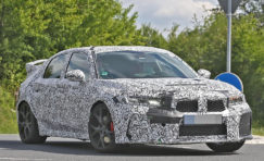 11th gen Honda Civic Type-R Spied for the First Time 3