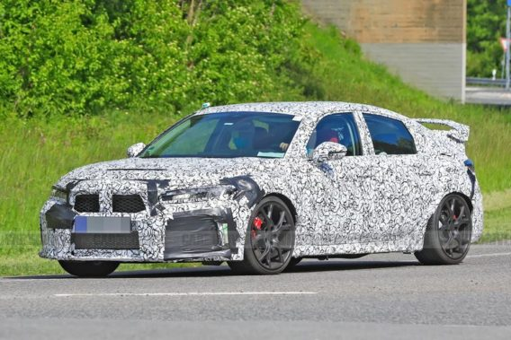 11th gen Honda Civic Type-R Spied for the First Time 7